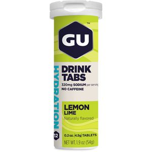 GU Hydration Drink Tabs - 8 Tube Pack