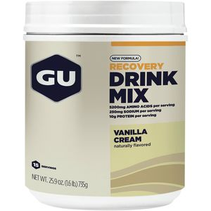 GU Recovery Drink Mix Canister
