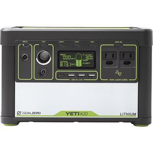 Goal Zero Yeti Lithium 400 Solar Generator