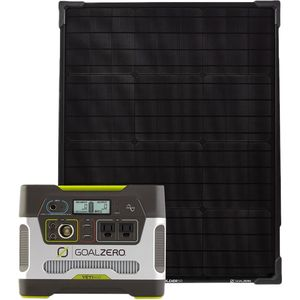 Goal Zero Yeti 400 Portable Power Station + Boulder 50 Solar Panel Kit