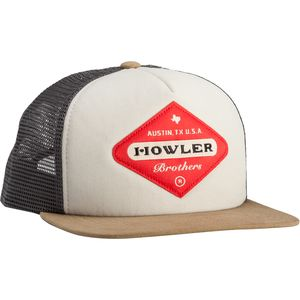 Howler Brothers Posse Badge Trucker Hat