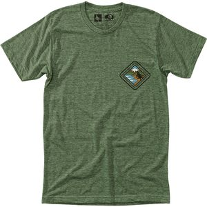 Hippy Tree Landmass T-Shirt - Men's