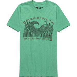 Hippy Tree Channel T-Shirt - Men's