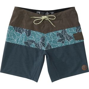 Hippy Tree Frond Board Short - Men's