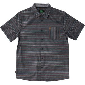 Hippy Tree Pinline Woven Shirt - Men's
