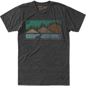 Hippy Tree Cascade T-Shirt - Men's