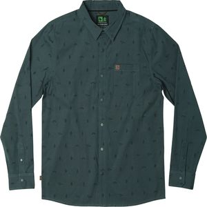 Hippy Tree Token Woven Long-Sleeve Shirt - Men's