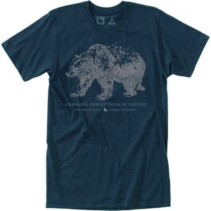 Hippy Tree Woodprint Short-Sleeve T-Shirt - Men's