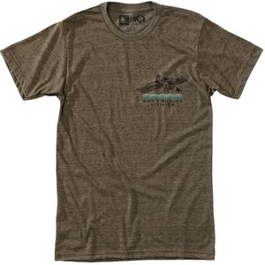 Hippy Tree Wingtip T-Shirt - Men's
