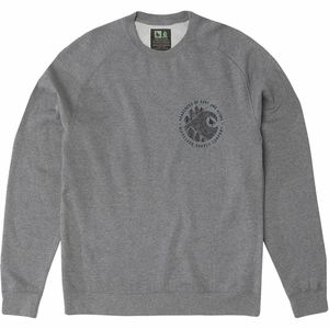 Hippy Tree Brushstroke Crew Sweatshirt - Men's