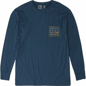 Hippy Tree Windbreak Long-Sleeve T-Shirt - Men's
