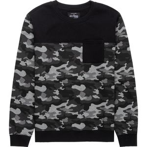Hollywood Camo Crewneck Sweatshirt - Men's