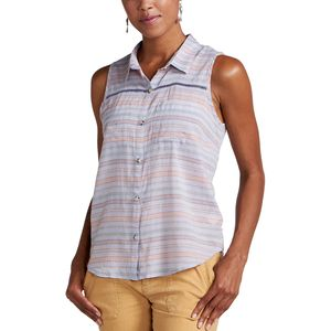 Toad&Co Airbrush Deco Shirt - Sleeveless - Women's