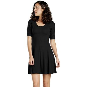 Toad&Co Daisy Rib Cafe Slv Dress - Women's