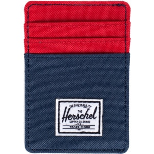 Herschel Supply Raven Card Holder Wallet - Men's