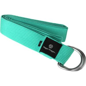 Hugger Mugger Cotton Yoga Strap w/ D-Ring - 8ft