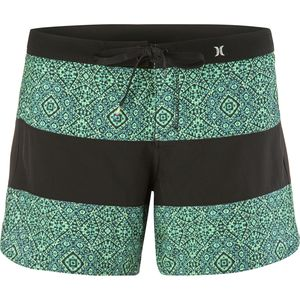 Hurley Phantom Printed 5in Beachrider Board Short - Women's