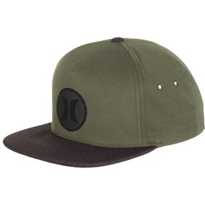 Hurley Icon Vapor Wash Snapback Hat