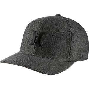 Hurley Black Suits Flexfit Hat