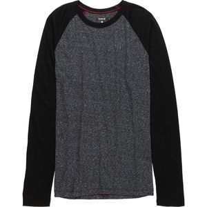 Hurley Still Raglan Long Sleeve Shirt - Men's