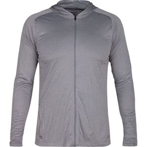Hurley Icon Quick Front-Zip Long-Sleeve Hooded Rashguard - Men's