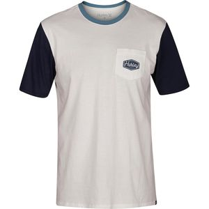 Hurley Blocked Pocket T-Shirt - Men's
