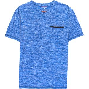 Hawke and Co.  Space Dye Short-Sleeve V-Neck Shirt - Men's