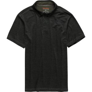 Hawke and Co.  Pro Pulse Flex Double Knit Melange Polo Shirt - Men's