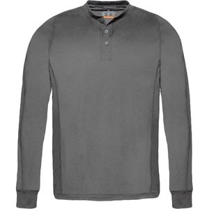 Hawke and Co.  Performance Wool Blend Henley Shirt - Men's