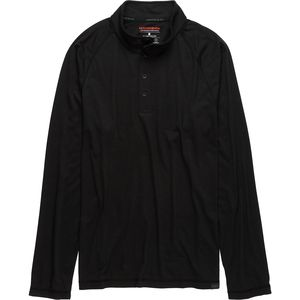 Hawke and Co.  Performance Wool Blend 1/2-Zip Shirt - Men's