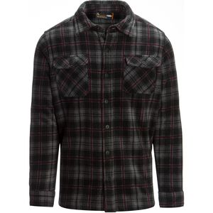 Hawke and Co. Plaid Sherpa Lined Shirt Jacket - Men's