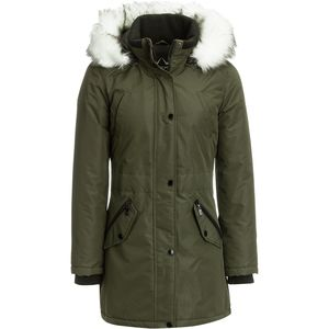 HFX Insulated Jacket with Faux Fur Hood - Women's