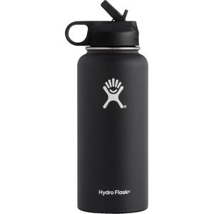 Hydro Flask 32oz Wide Mouth Water Bottle with Flex Straw Lid