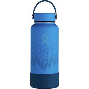Hydro Flask 32oz Wide Mouth Flex Cap and Boot Water Bottle