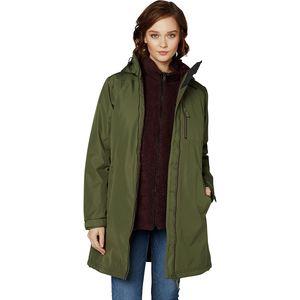 Long Belfast Winter Insulated Jacket - Women's