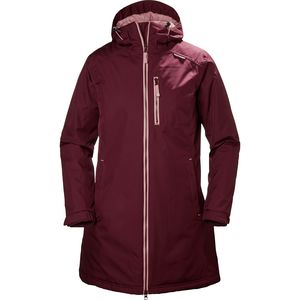 Helly Hansen Long Belfast Winter Insulated Jacket - Women's