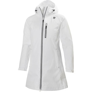 Womens White Rain Jacket Outdoor Jacket