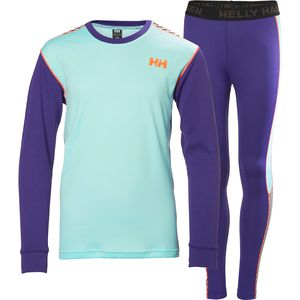 Helly Hansen Active Long Underwear Set - Girls'