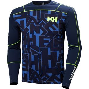 Helly Hansen Lifa Active Graphic Crew Shirt - Long-Sleeve - Men's