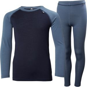 Helly Hansen Jr Merino Mid Baselayer Set - Boys'