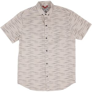 Iron and Resin Linear Shirt - Short-Sleeve - Men's