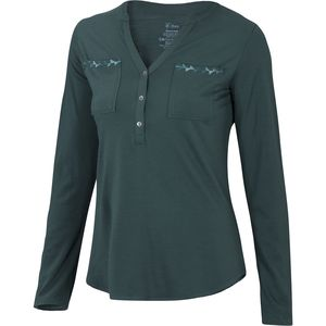 Ibex Shanti Henley Shirt - Long-Sleeve - Women's