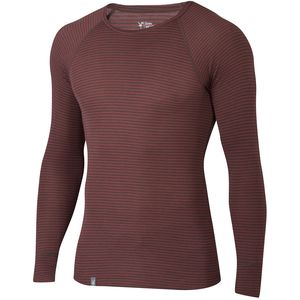 Ibex Woolies 1 Stripe Crew Top - Men's
