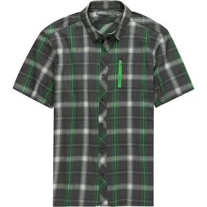 Icebreaker Compass Plaid Short-Sleeve Shirt - Men's