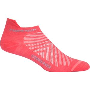 Icebreaker Run Plus Ultra Light Anatomical Micro Sock - Women's