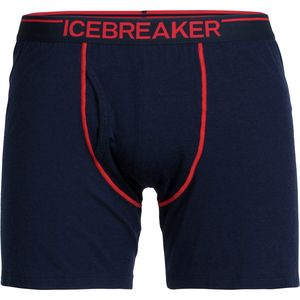 Icebreaker BodyFit 150-Ultralite Anatomica Relaxed Boxer With Fly - Men's
