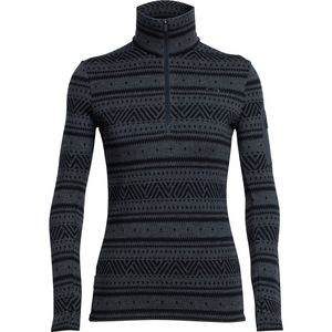 Icebreaker Vertex 1/2-Zip Fair Isle Top - Women's
