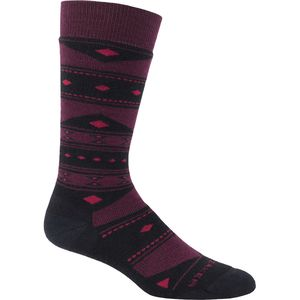 Icebreaker Lifestyle Baujacq Medium Over the Calf Sock - Women's
