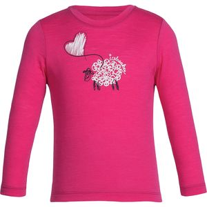 Icebreaker Tech Lift Crew Top - Toddler Girls'