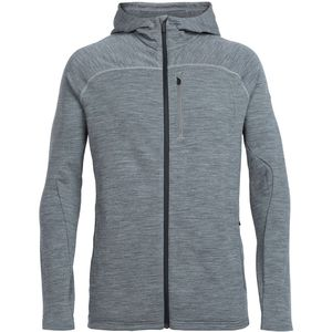 Icebreaker Mt Elliot Hooded Fleece Jacket - Men's